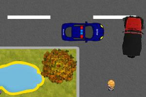 《吉普车停靠》游戏画面1