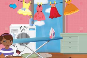 《玩具小医生爱洗衣》游戏画面1