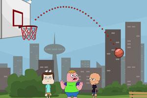 《克拉伦斯篮球赛》游戏画面1