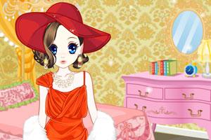《森迪公主的新年装扮》游戏画面1