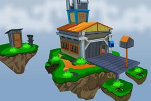 《逃出空岛》游戏画面1