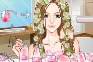 《美女换发型》游戏画面2