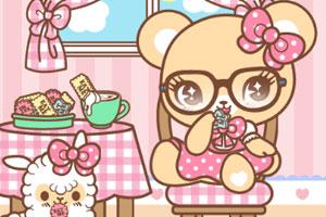 《可爱小熊喝下午茶》游戏画面1