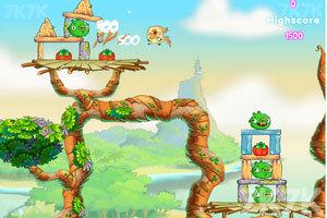 《愤怒的小鸟思黛拉电脑版》游戏画面3