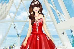 《漂亮的薄纱礼服》游戏画面1