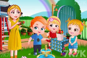 《可爱宝贝春季大扫除》游戏画面1