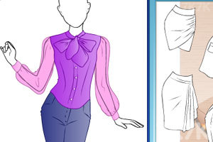 《时尚的老师服饰》游戏画面3