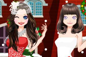 《圣诞舞会装扮》游戏画面1