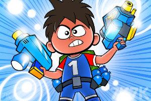 《水球男孩跑酷》游戏画面2