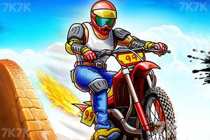 《热力摩托无敌版》游戏画面2