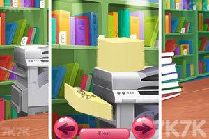 《在图书馆偷懒》游戏画面2