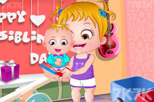 《可爱宝贝的兄弟姐妹节》截图5