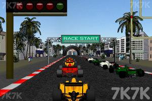 《F1方程式赛车》游戏画面1