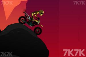 《火山摩托车特技赛》游戏画面2