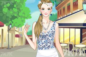 《女孩的美丽春装》游戏画面3