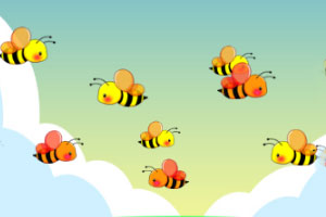 《狂点蜜蜂》游戏画面1