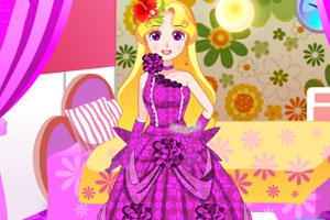 公主的漂亮礼服