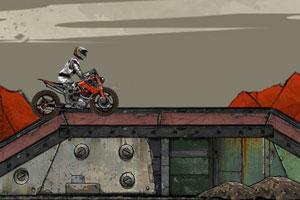 《废墟摩托车赛》游戏画面1