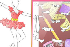 《属于你的芭蕾裙》游戏画面1