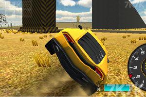 《3D特技跑车》游戏画面1