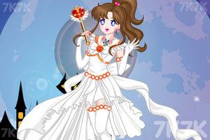《可爱的美少女战士》游戏画面1
