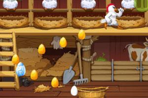《愤怒的母鸡下蛋》游戏画面1