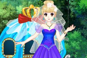 美丽公主节日春游