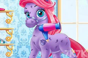 《打扮可爱的小马》游戏画面2