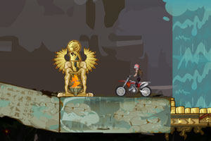 《美女骑摩托闯地宫3》游戏画面1