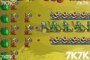 《水果保卫战4无敌版》游戏画面2