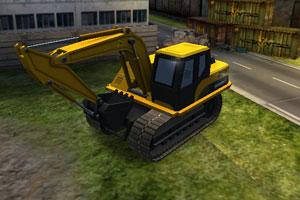 3D挖掘机驾驶