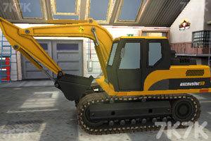 《3D挖掘機駕駛》截圖3