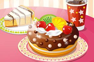 《可爱的甜甜圈H5版》游戏画面1