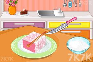 《漂亮的花朵蛋糕》游戏画面3