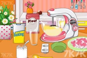 《漂亮的花朵蛋糕》游戏画面4