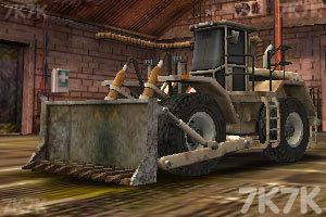 《工业卡车停车》游戏画面1