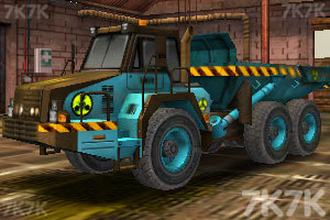 《工业卡车停车》游戏画面3