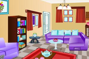 《逃出惊奇的客厅》游戏画面1