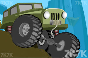 《越野攀岩车》游戏画面1