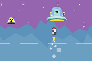 《击落UFO》游戏画面1