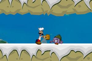 《老爹雪山探险》游戏画面1