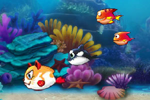 《大魚吃小魚2015》游戲畫面1