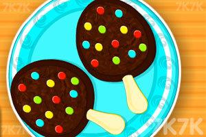 《奶油巧克力冰棒》游戏画面1