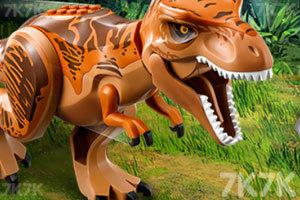 《乐高侏罗纪世界》游戏画面1