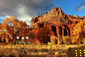 《逃离沙漠洞穴》游戏画面1