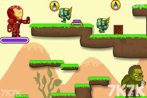 《绿巨人与钢铁侠无敌版》游戏画面3