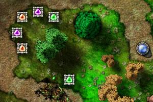 《宝石争霸2暗影追击无敌版》游戏画面1