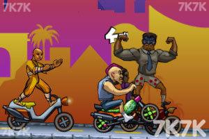 《全民摩托无敌版》游戏画面2