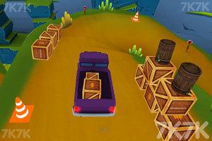 《环山路上的货车郎》游戏画面2