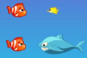 《莫尼吃小鱼》游戏画面1